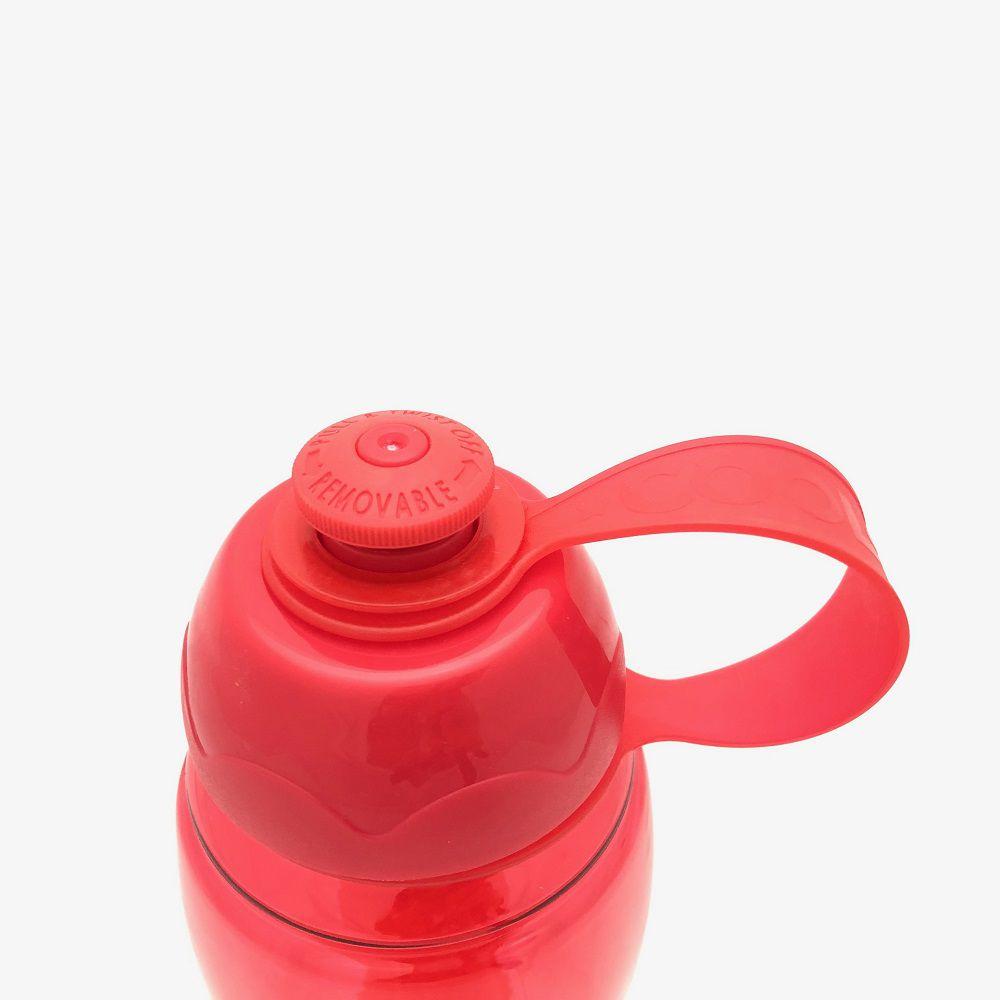 Garrafa Cool Gear Push Pull Vermelha