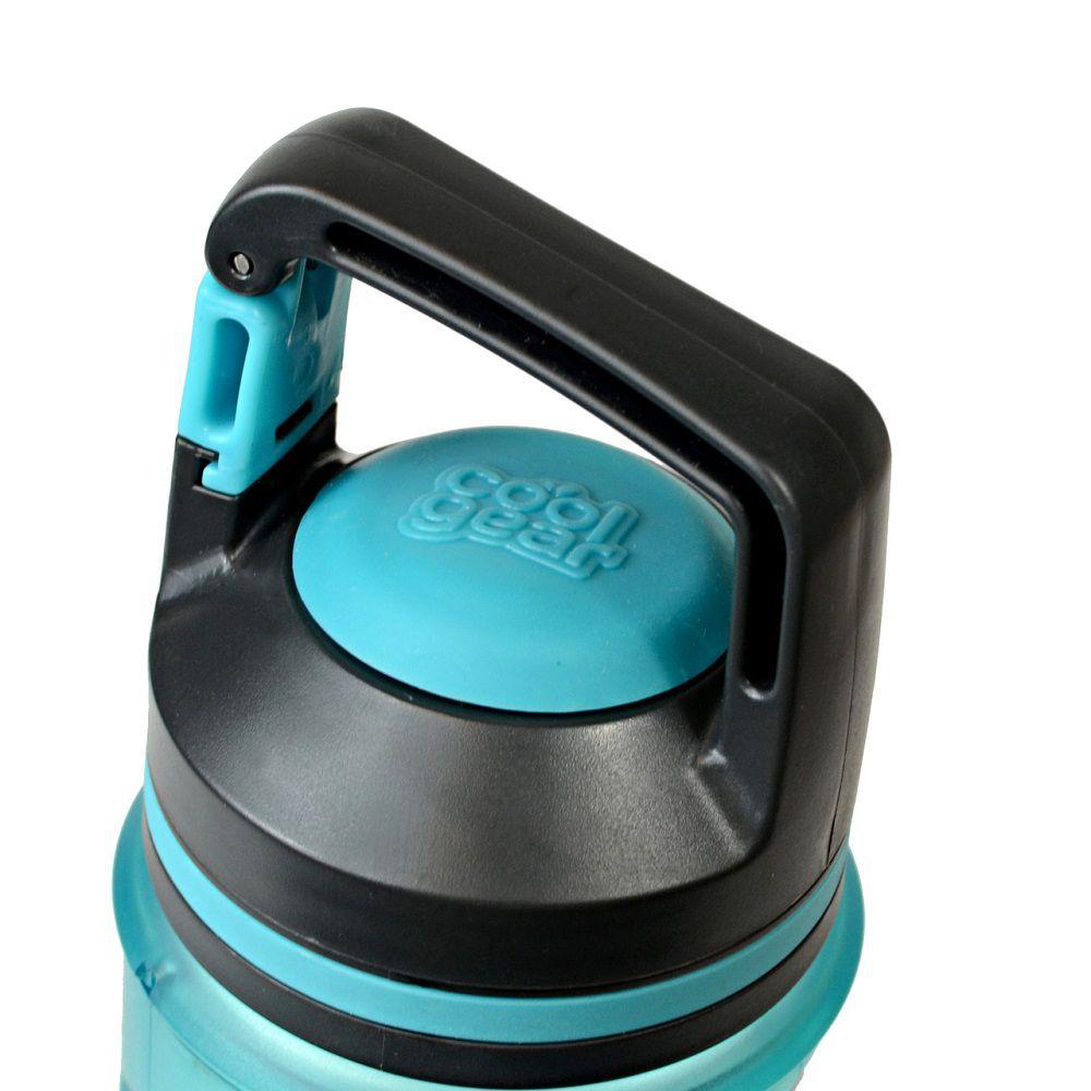 Garrafa Cool Gear Rocktagon Azul