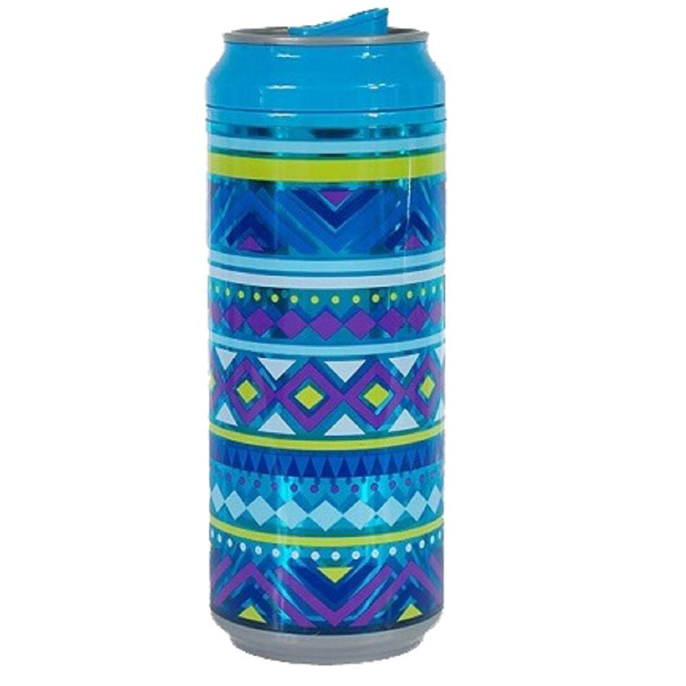Latinha Cool Gear Azul Tribal