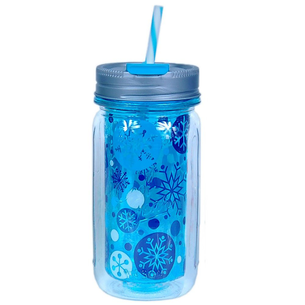 Mason Jar Cool Gear Natalino Azul