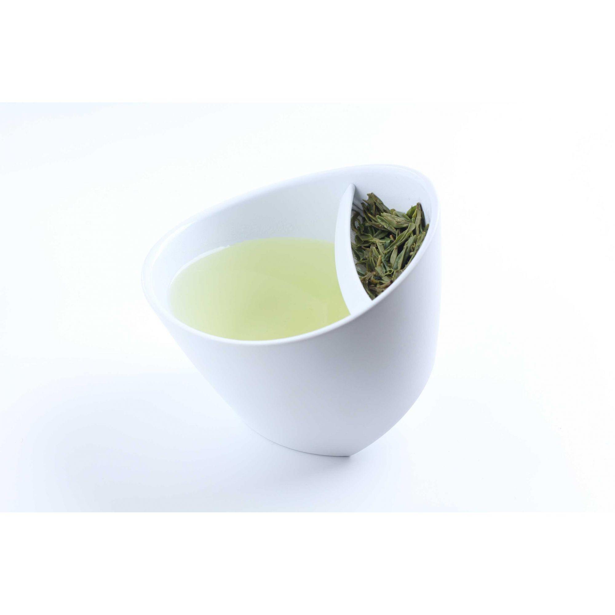 Xícara de chá Magisso branca