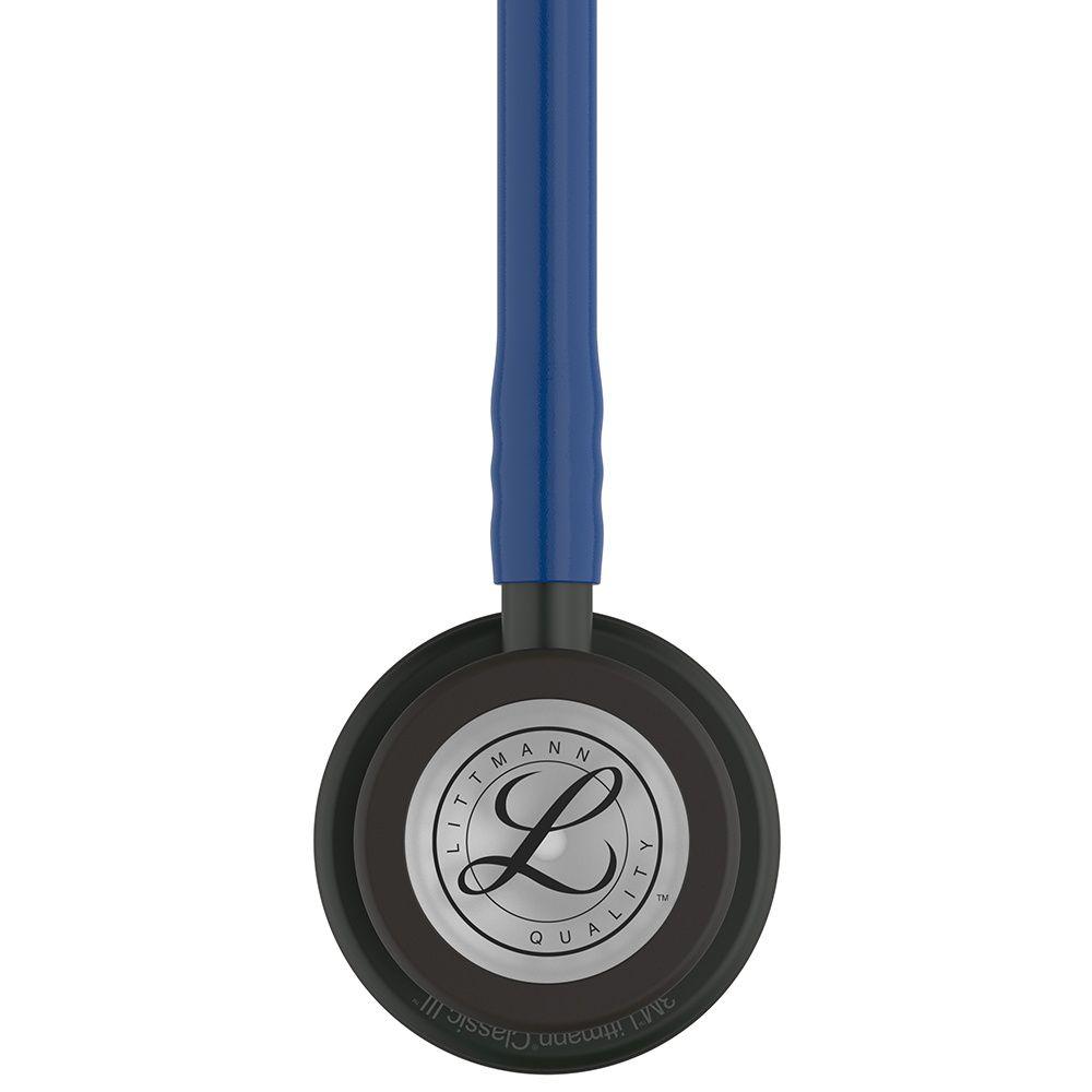 Estetoscópio Littmann Classic III Azul Marinho com Acabamento Preto 5867