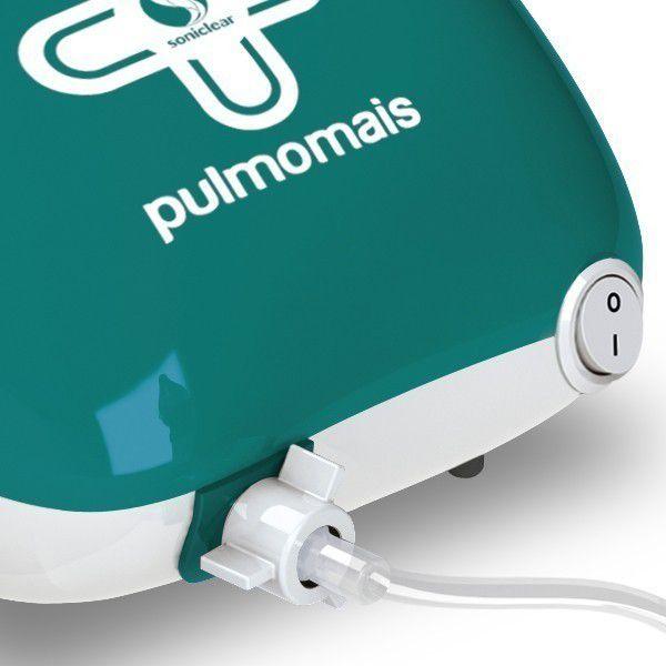 Inalador Nebulizador Mecânico Pneumático a Jato de Ar PulmoMais