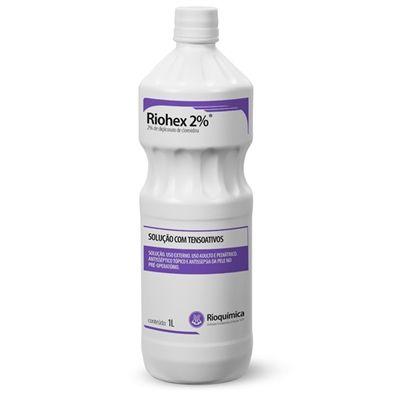 RIOHEX CLOREXIDINA 2% DEGERMANTE 1 LT RIOQUIMICA