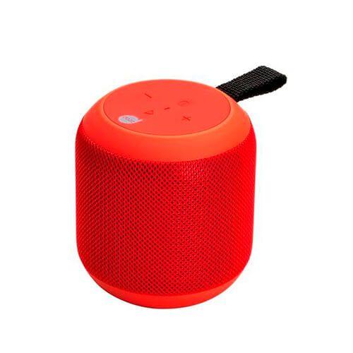 Caixa de som Bluetooth 360 Dazz 601448-1 Vermelha 7w 2000mAh