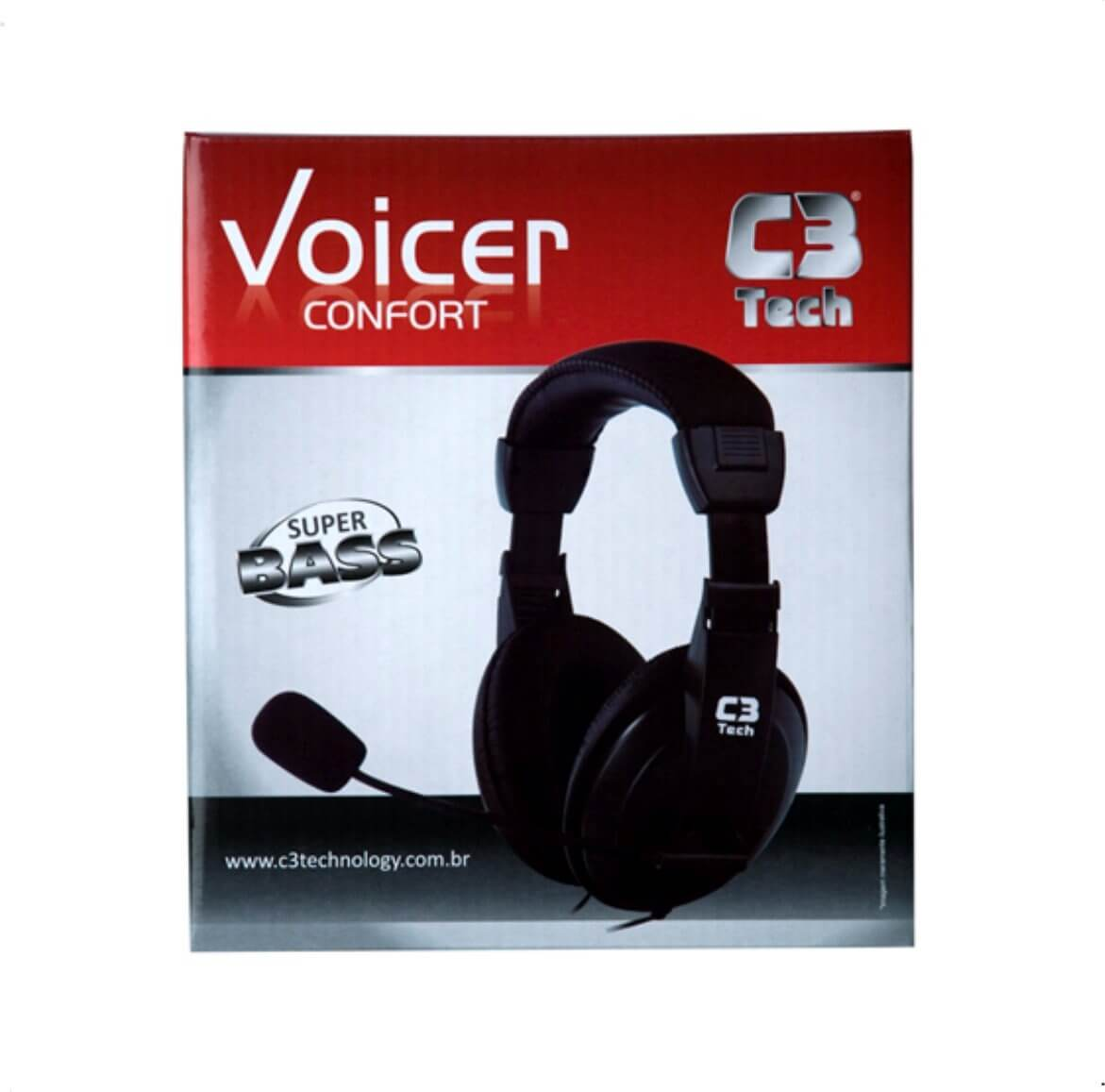 Headset Com Microfone CT-662863 Voicer Confort