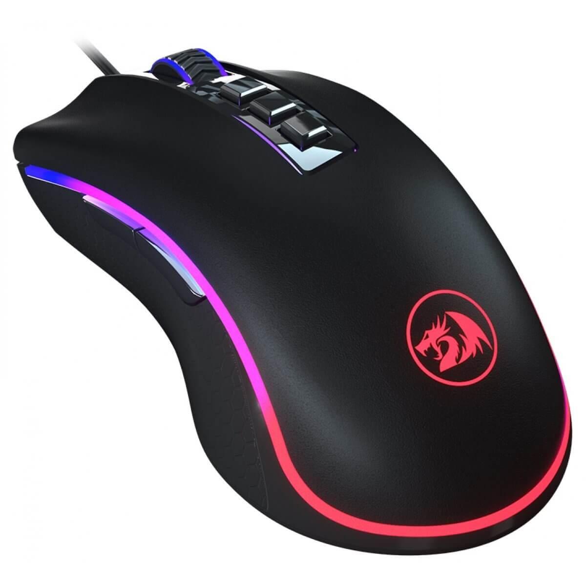 Mouse Gamer Redragon Cobra M711FPS King Cobra 24.000DPi