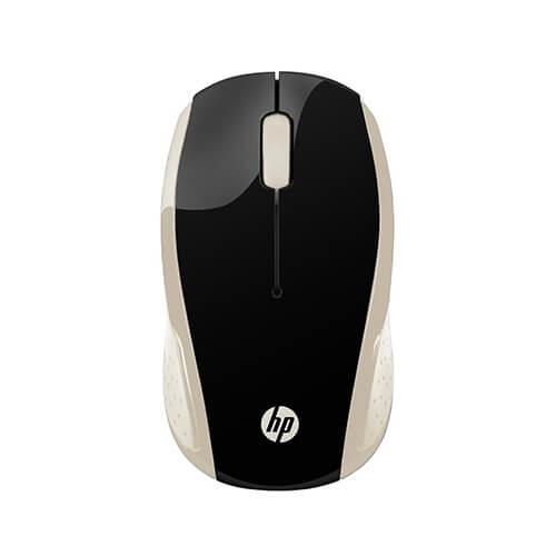 Mouse Sem Fio Hp X200 Oman Dourado