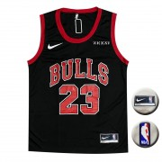 Camisa Regata Chicago Bulls Preto