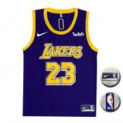 Camisa Regata Lakers Roxa