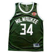 Camisa Regata Milwaukee Bucks Verde