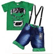 Conjunto Infantil Hulk