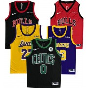 Kit 5x  Camisetas de Basquete NBA