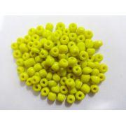 Miçangas 6/0 Amarela (500 Gramas)