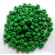 Miçangas 6/0 Verde (500 Gramas)