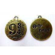 Pingente Medalha Harry Potter 9 3/4 (O.V)
