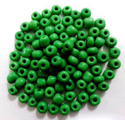 Miçangas 6/0 Verde (50 Gramas)