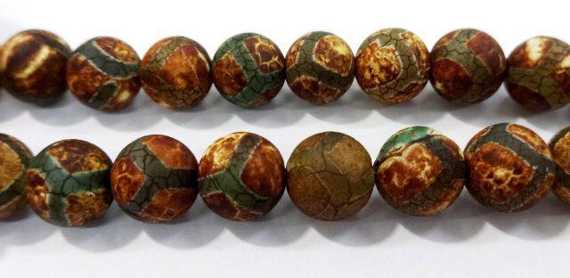 Pedra Agata Tibetana 10mm
