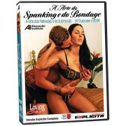 DVD - A Arte do Spanking e do Bondage - Loving Sex