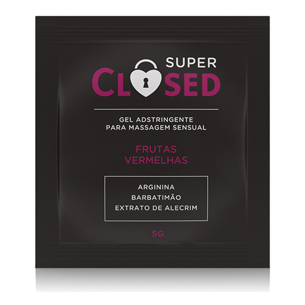 Gel Adstringente SUPER CLOSED - Sachê