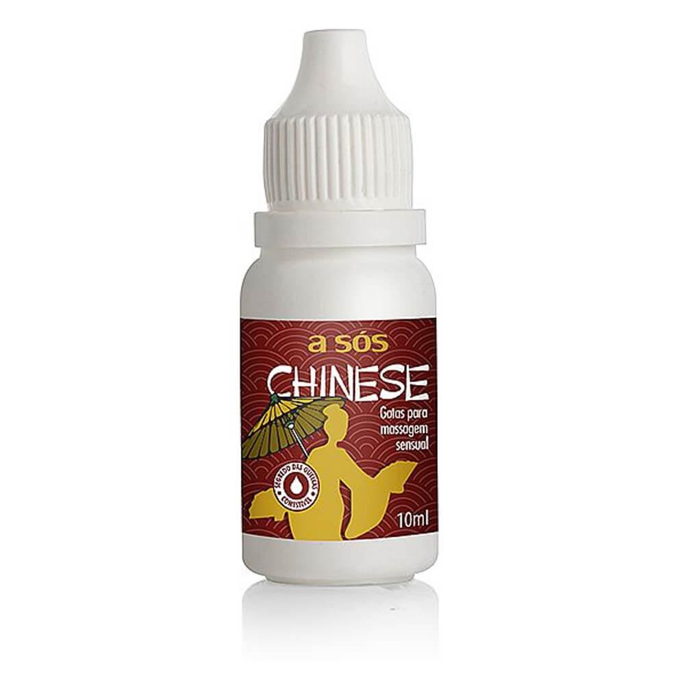 Gel Excitante Feminino Comestível em Gotas Chinese