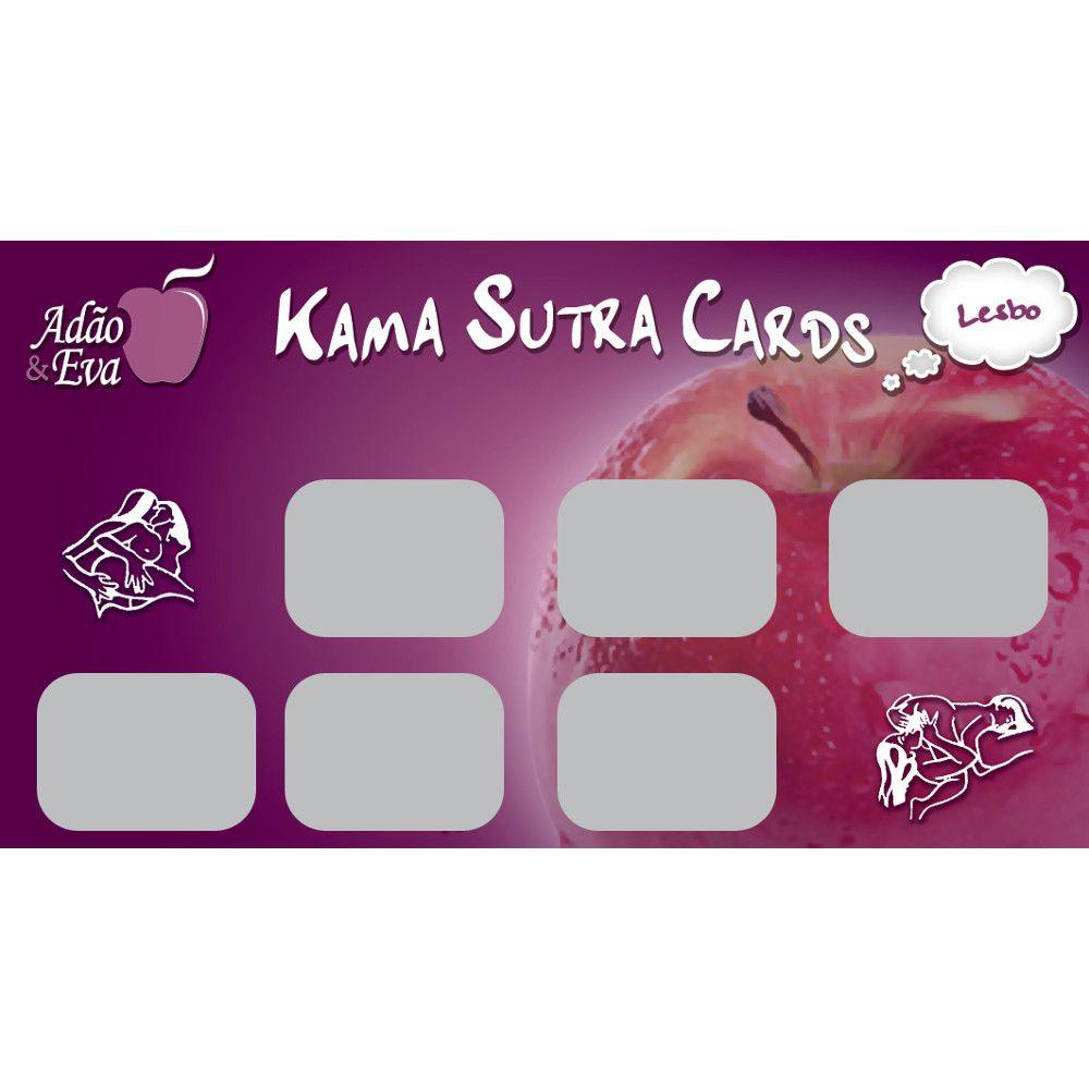 Raspadinhas Kama Sutra Cards - Lesbo