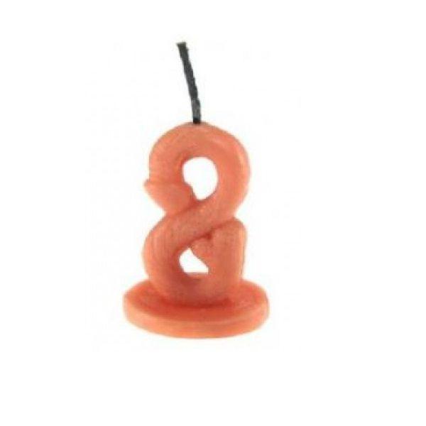 Vela Erótica – Vela de Aniversário em Formato de Pênis – Número 8