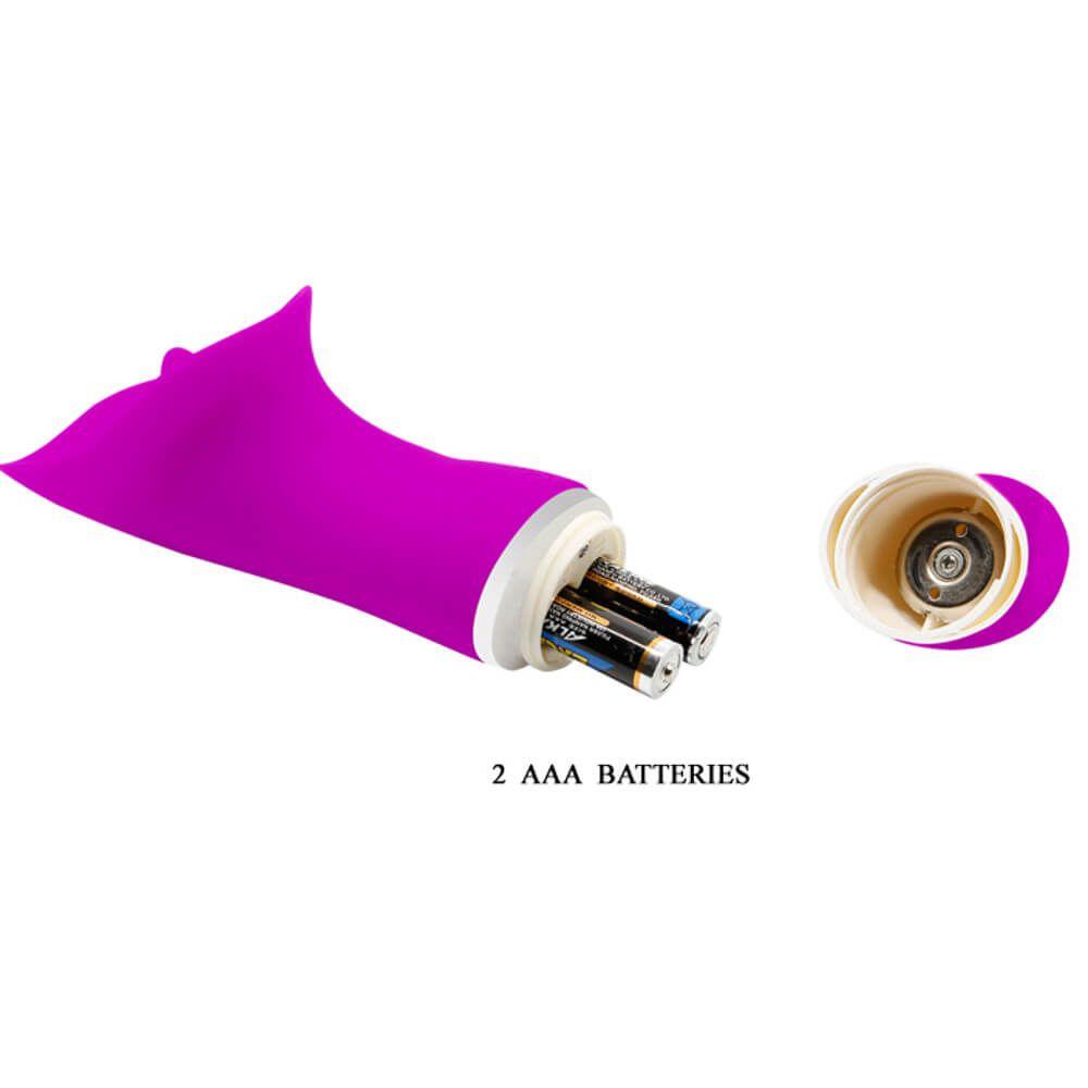 Vibrador com Textura Estimuladora com 30 Funções de Vibração - Pretty Love Rudolf