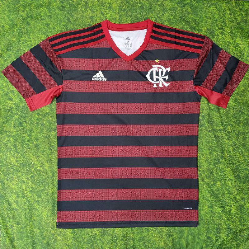 94d49e2c7ec37 Camisa Flamengo I 19/20 s/n° Torcedor Adidas Masculina - Vermelho e Preto -  AF.SPORTS