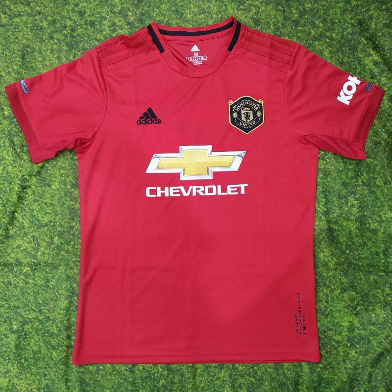1ba00e2bb7605 Camisa Manchester United Home 2019/20 s/n° Torcedor Adidas Masculina -  Vermelho e Preto - AF.