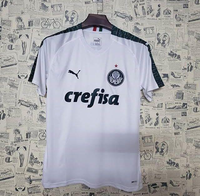 6be198b04fcc0 Camisa Palmeiras ll 19/20 s/n° - Torcedor Puma Masculina - Branco -  AF.SPORTS