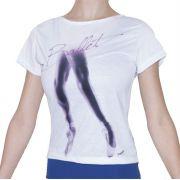 Camiseta em Malha manga curta