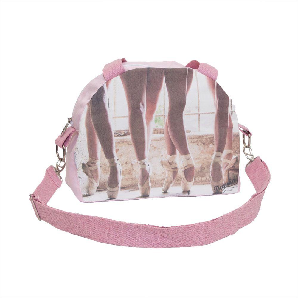 Bolsa de Lona Meia Lua - tamanho Médio com estampas diversas