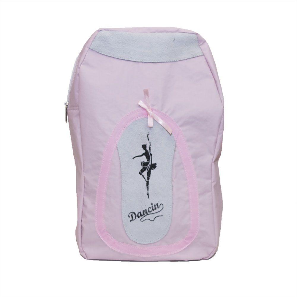 Bolsa Formato de Sapatilha com estampa de bailarina - Korino