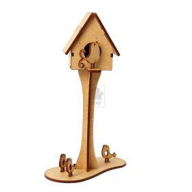 Casa Passarinho em madeira MDF - Yper Criativo