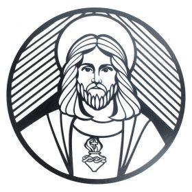Mandala Sagrado Familia Coração Jesus Quadro Religioso