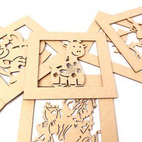 Quasdrinhos Decorativos Quarto Bebê Criança Decoração Quarto - Yper Criativo