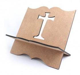 Suporte Porta Biblia Cruz