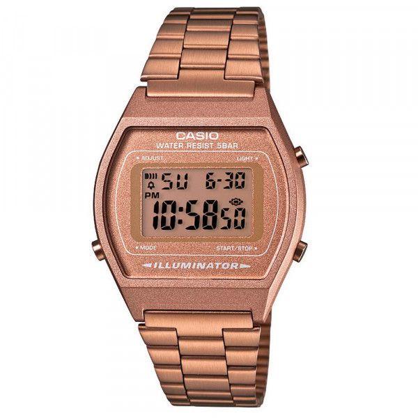 Relógio Casio Vintage Rosé B640WC-5ADF