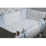 Kit 3 Protetores Personalitá Azul Bebê