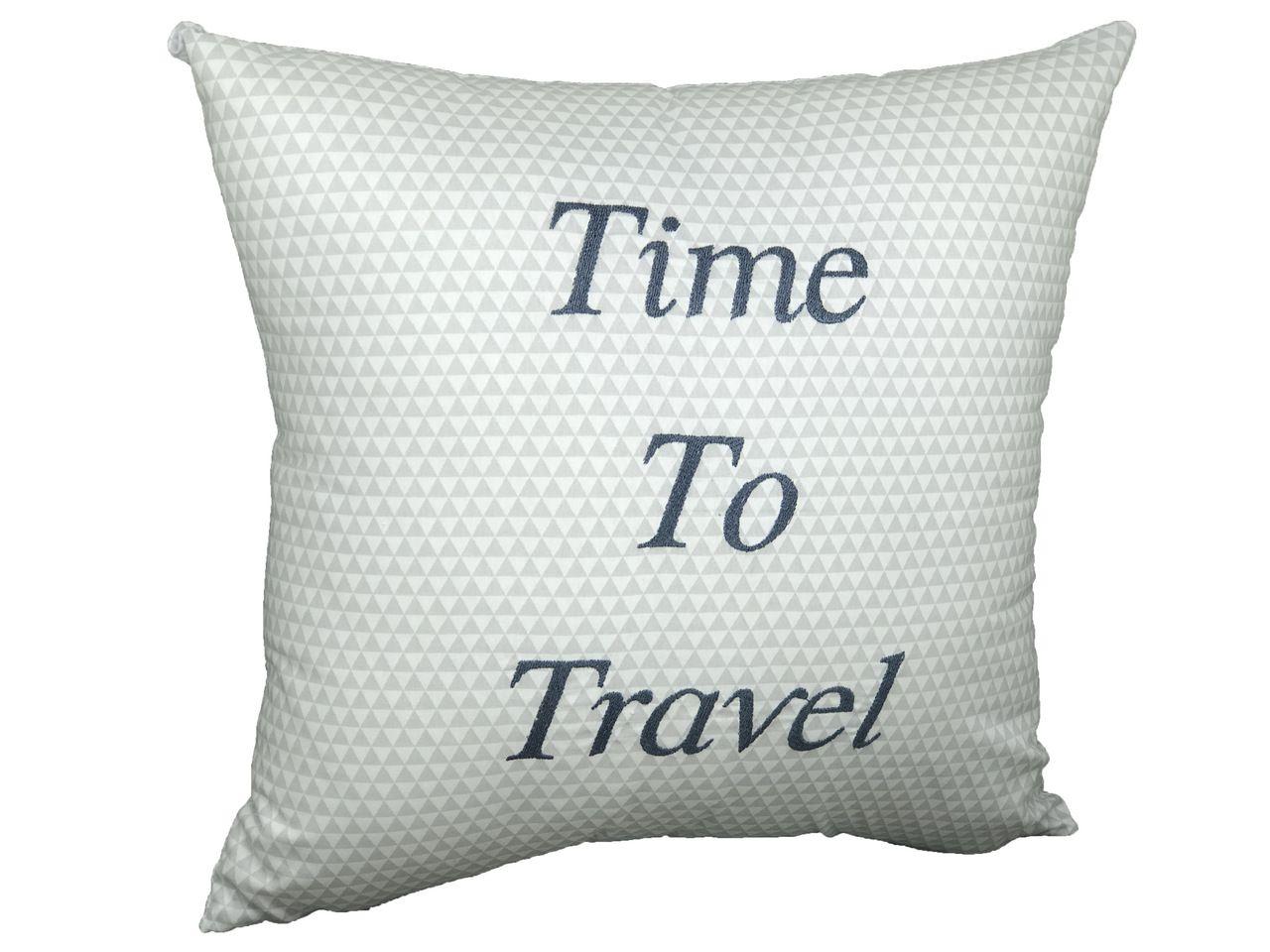 Almofada Time To Travel Azul