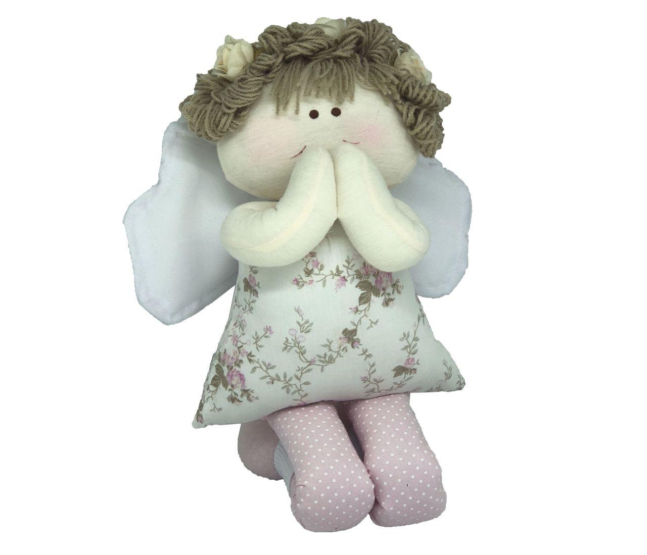 Boneca Anjo Rezando