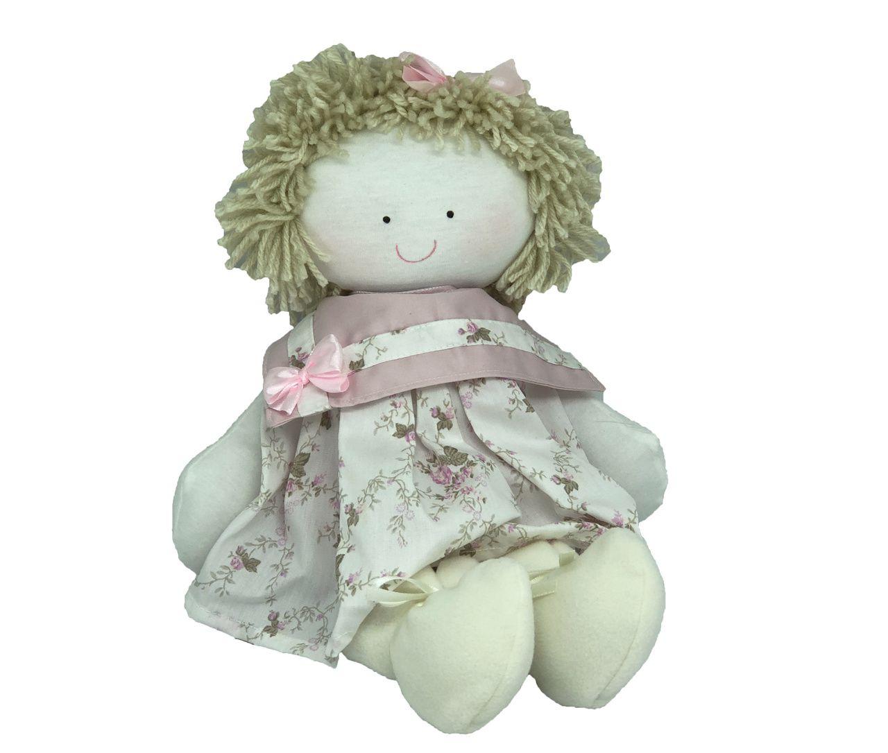Boneca Bebê Floral Liberty