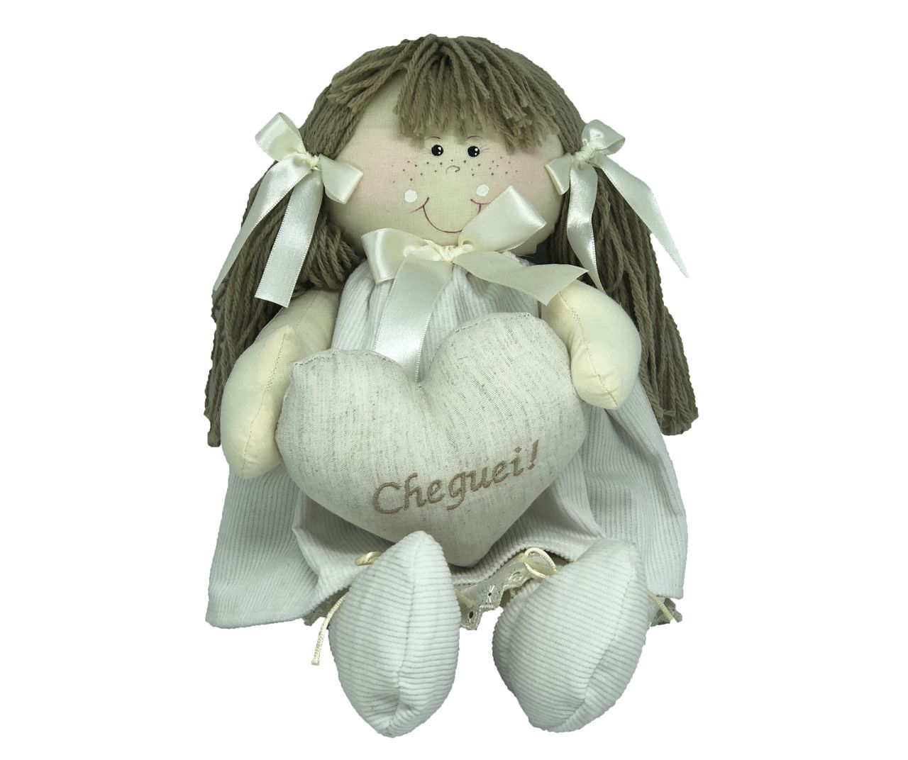 Boneca Cheguei Bege