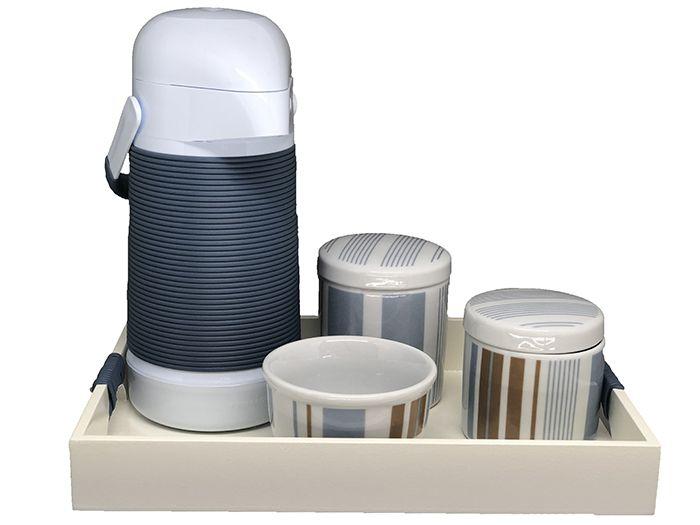 Kit Higiene Completo Jeans Menino