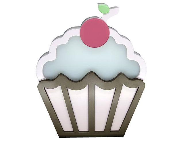 Luminária de Mesa Cupcake