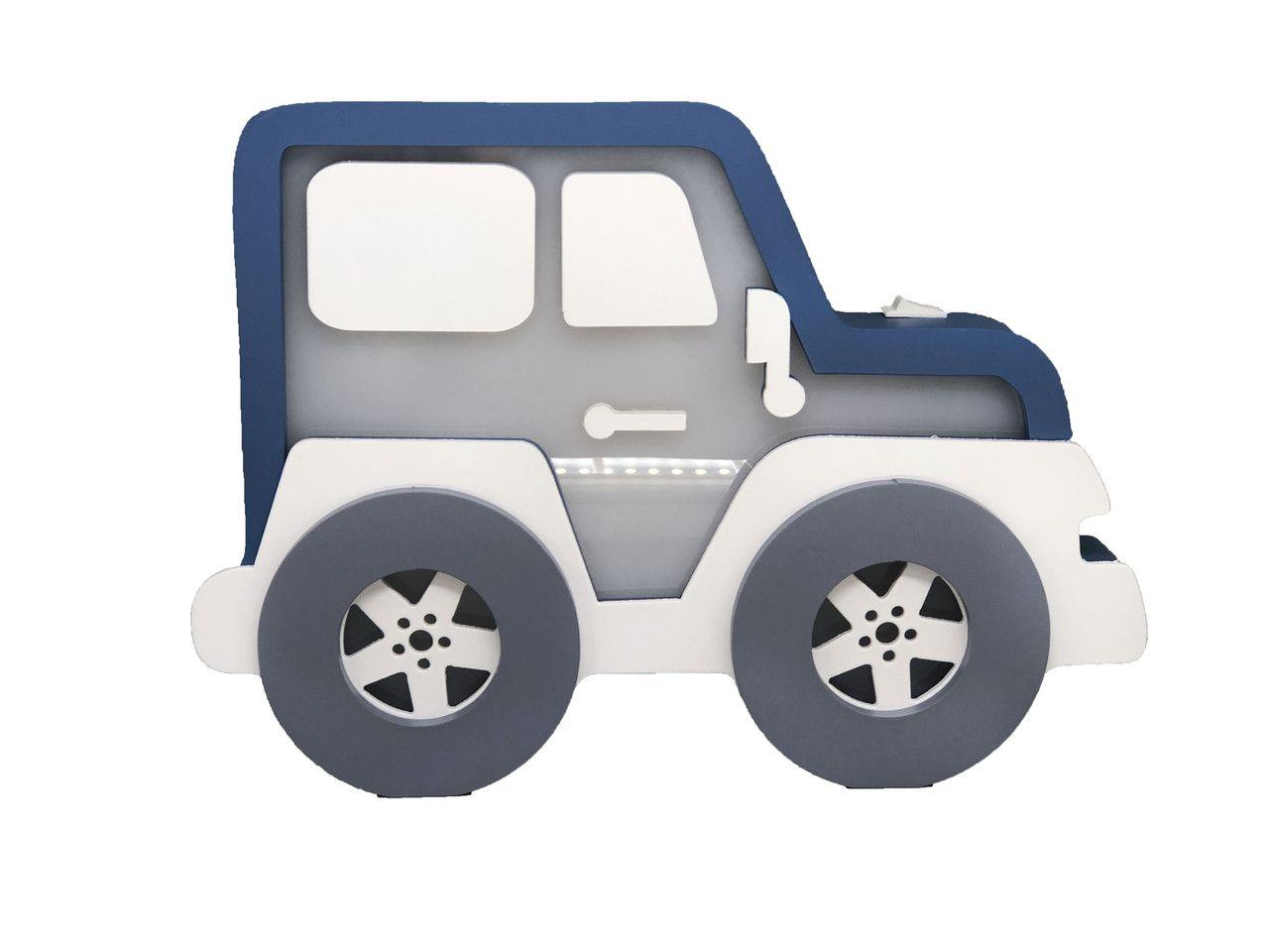 Luminária de Mesa Jeep
