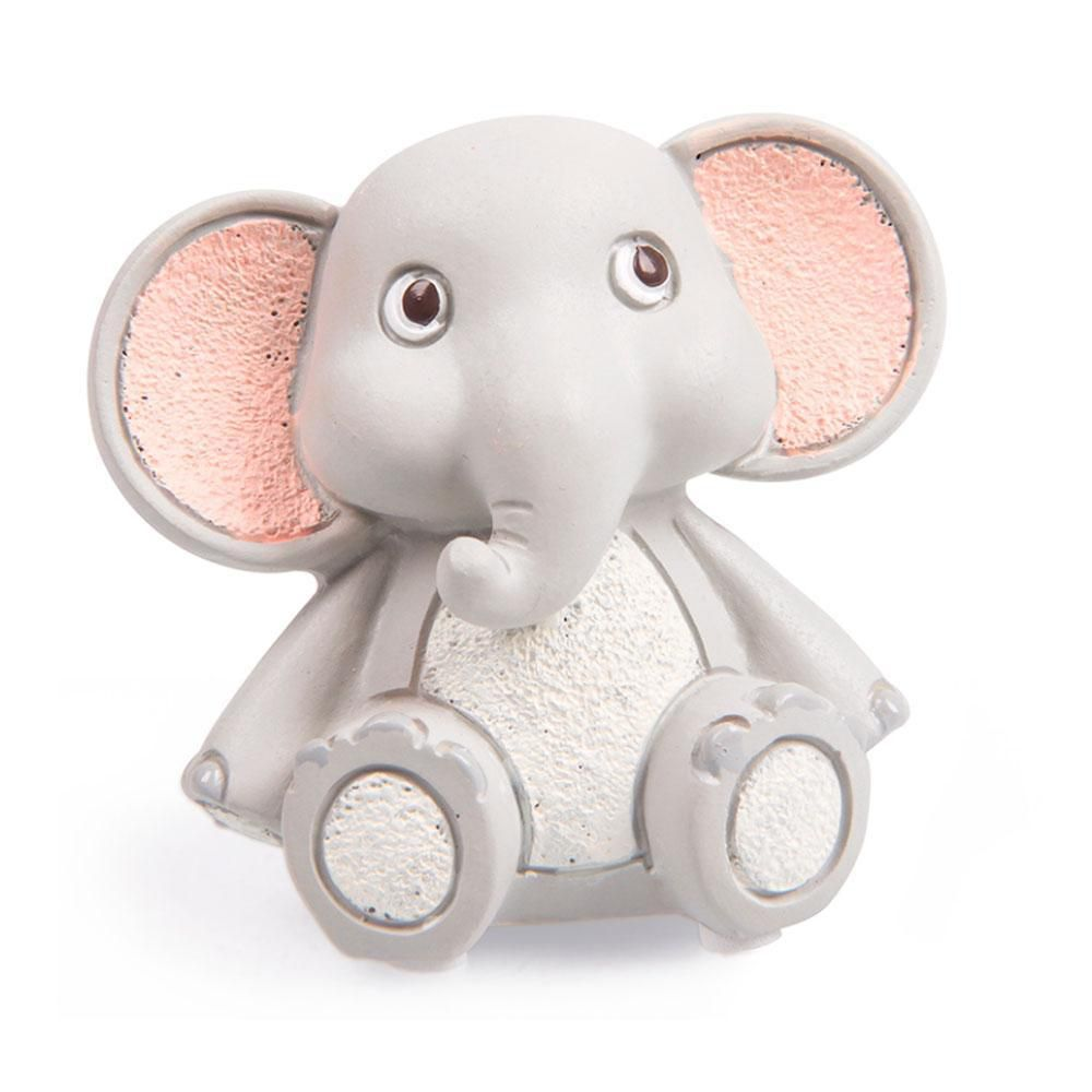 Mini Escultura Elefante Sentado