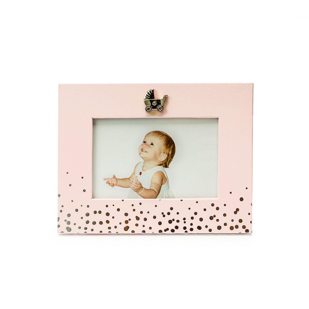 Porta Retrato Bubbles Rosa