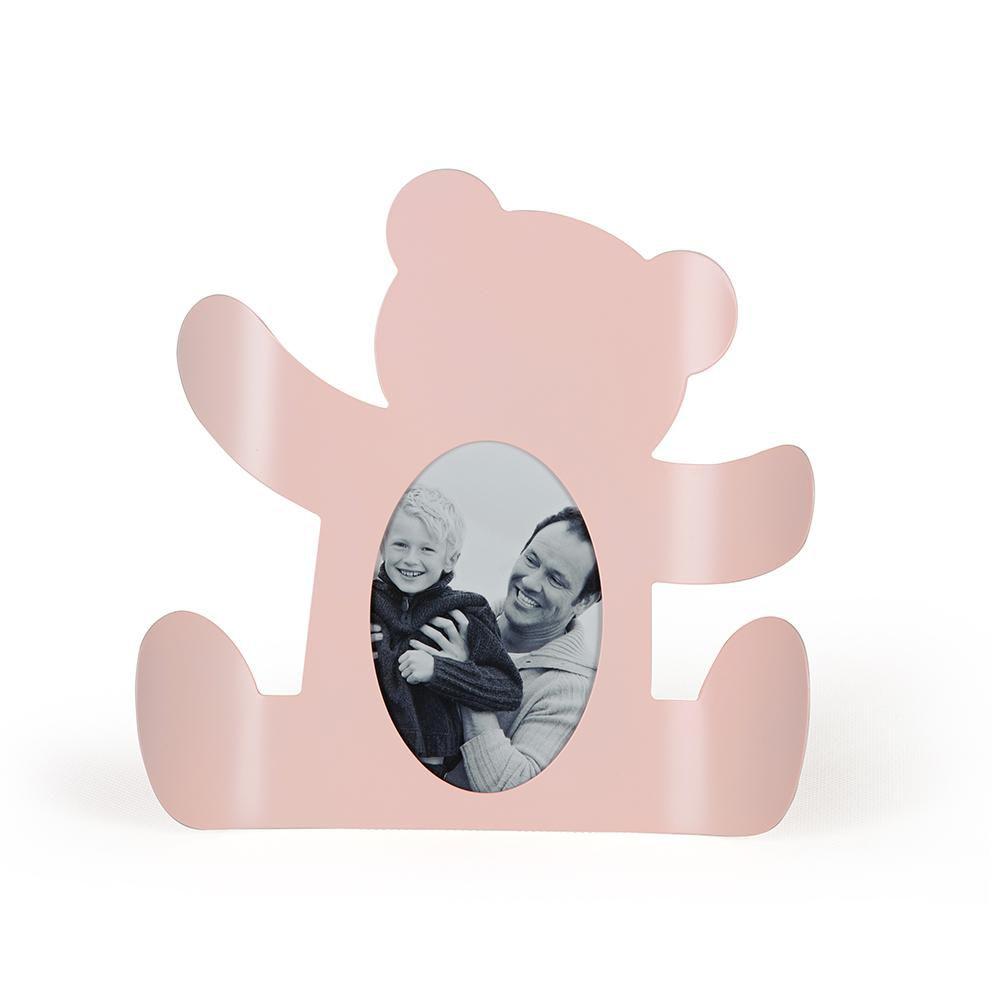 Porta Retrato Ursa Rosa